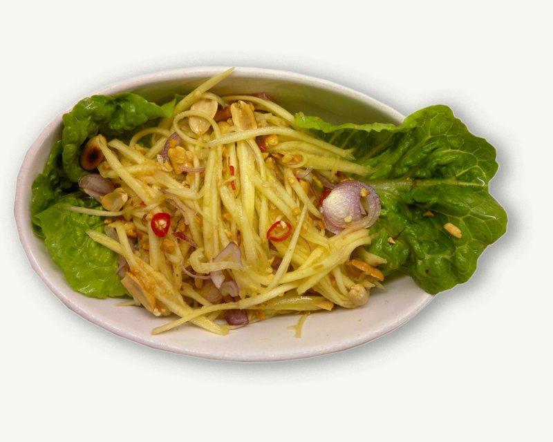 Stærk mangosalat (Yam mamuang)