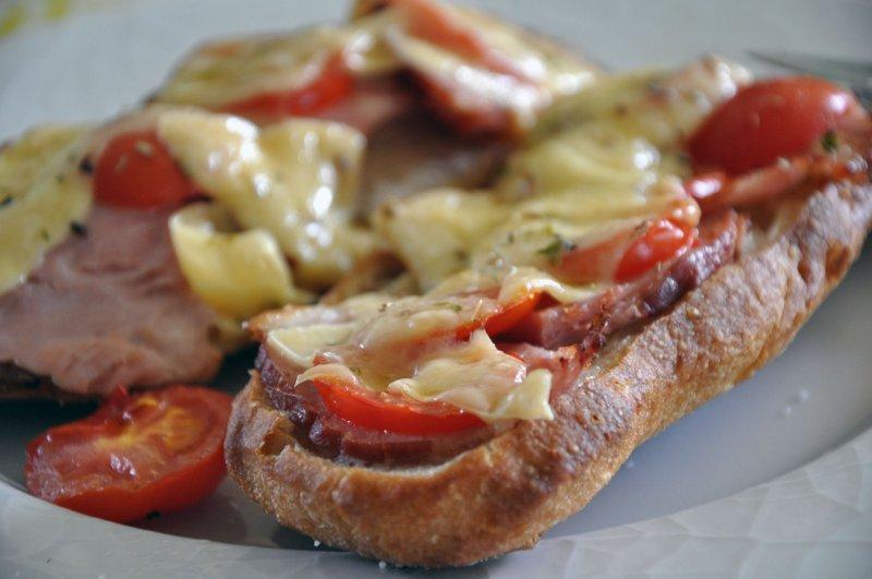 Varm Hamburgerryg - Oste mad hurtig frokost