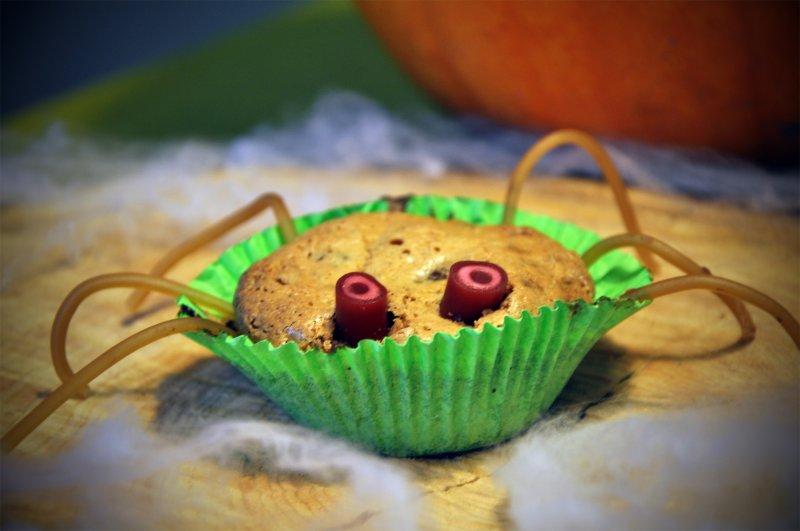 Edderkop makron muffins