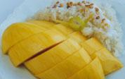 Mango med klisterris