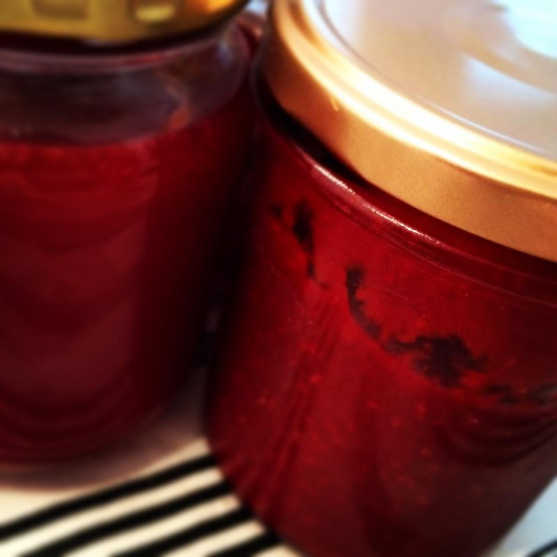 Hjemmelavet Hindbærmarmelade