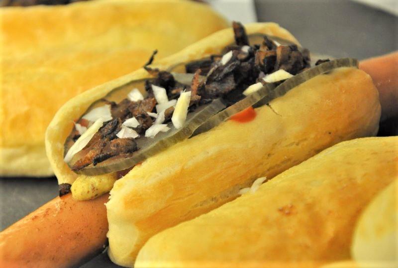Hjemmelavede hotdogs - Luksus versionen