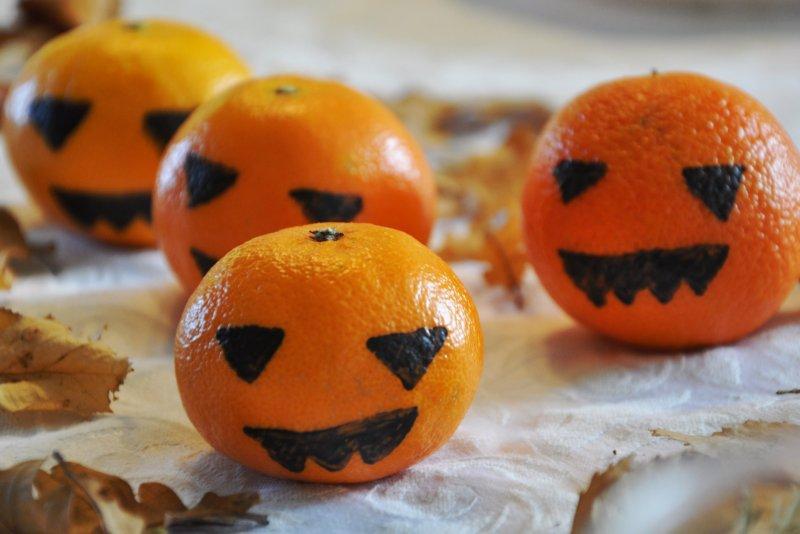 Mandarin halloween hoveder