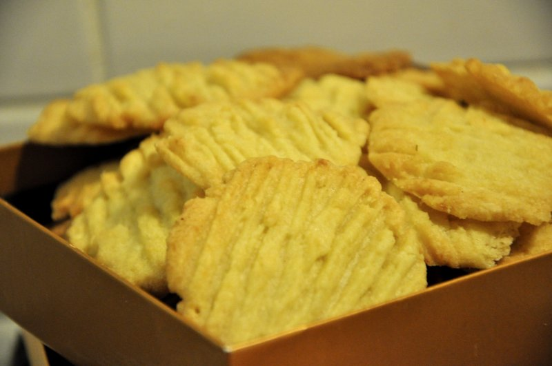 Mandel-macipan småkager