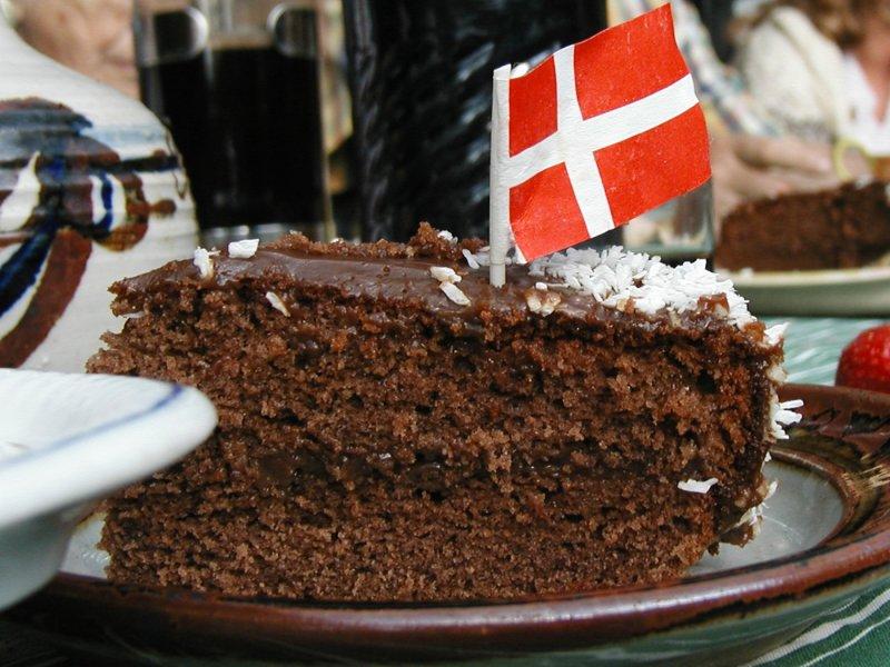 Mocca chokolade kage