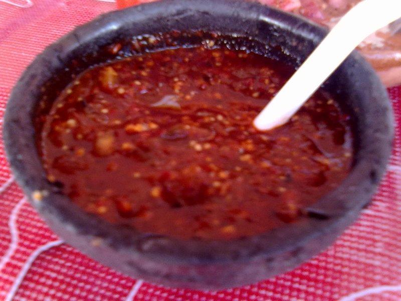 Salsa de Chile Habanero: