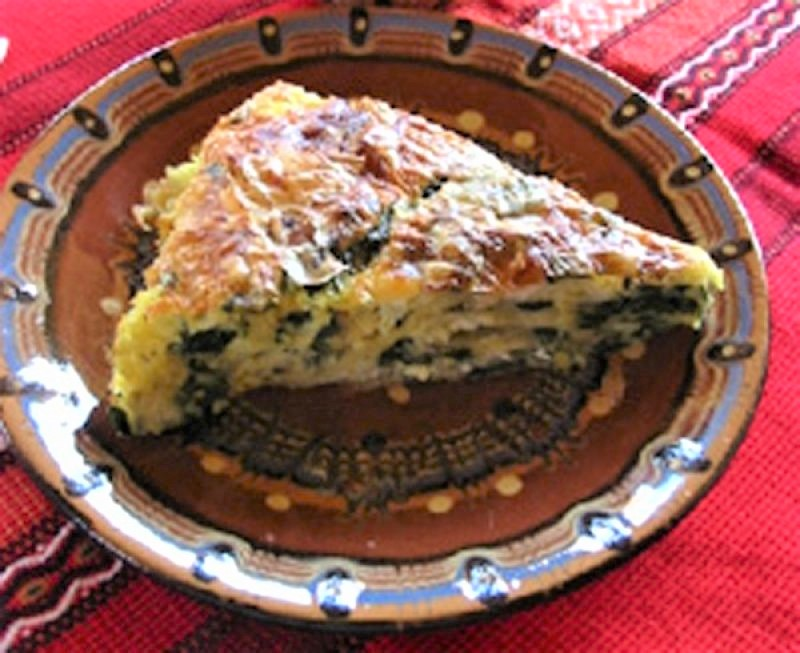 SpinatBanitsa  ( Banitsa med spinat & feta