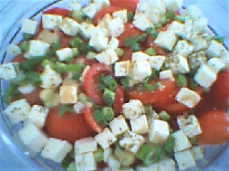 Tomat salat med feta
