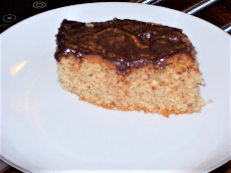 Valnøddekage med chokolade a la tanja